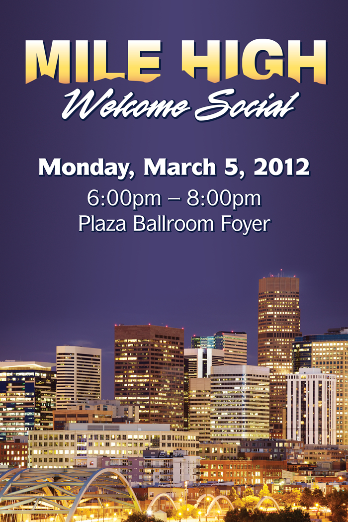 Mile High Welcome Social